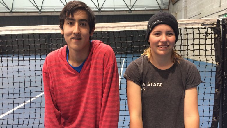 Ballkids buildup to 2016 ASB Classic