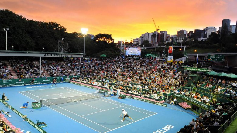 Counting down to live tennis in Auckland