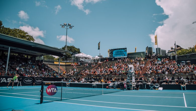 Another top-notch day at the ASB Classic!